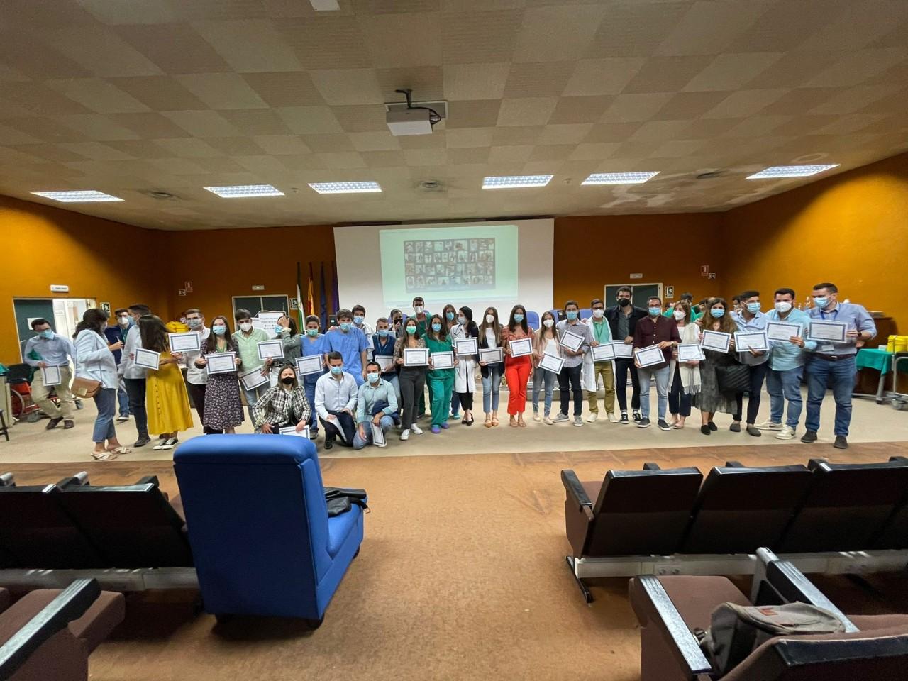 Despedida homenaje en el Hospital Clínico Universitario a 43 EIR que terminan su formación como especialistas