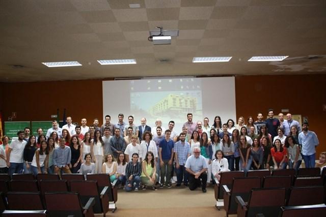 Bienvenida a los 64 nuevos especialistas residentes en el Hospital Clínico Universitario