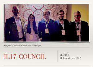 """Reunión Multidisciplinar Nacional """"IL17 COUNCIL"""""""
